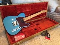 Stunning Fender 50's Telecaster. FSR. Lake Placid Blue with P90 Bridge Pickup in Mint Condition.