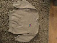 Taverham high school sweatshirt and polo shirt