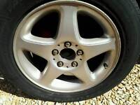 Vw t25 campervan alloys 16inch. Fit straight on t25. No spacers needed.