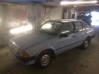 FORD ESCORT 1.3L ONLY 31.000 MILES OLD SCHOOL FORD