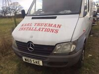 MERCEDES SPRINTER 311 CDI 2002 *BREAKING* ENGINE AND GEARBOX AVAILABLE