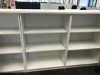 8 sets of great quality bookshelves FREE