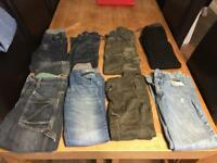 Boys jeans and trousers