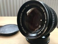 Konica Hexanon SONY 50mm f1.4 FAST Lens MINT++ (4/3 Mirrorless)