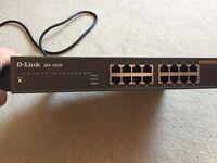 D-Link DES 1016D (DES-1016D) 16-Port 100Mbits Ethernet Switch