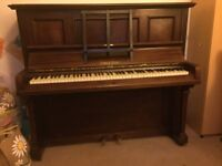 Upright piano, free to a good home, ideal Christmas present, Cons and Cons, buyer to collect please