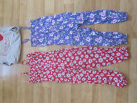 8-9 years girls pretty summer onesies and jumper