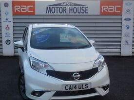 Nissan Note ACENTA (£20.00 ROAD TAX) FREE MOT'S AS LONG AS YOU OWN THE CAR!!!! (white) 2014