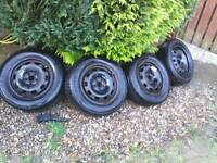 Steel wheels with tyres SEAT / AUDI / VW / SKODA