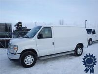 2014 Ford E-250 Cargo Van w/Bucket Seats, AM/FM Stereo System