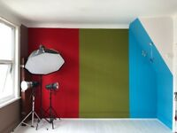 PHOTOGRAPHY STUDIO FOR HIRE