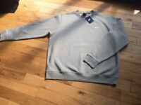 BRAND NEW WITH TAGS MENS GREY NIKE TRACKSUIT TOP SIZE 2XL £15