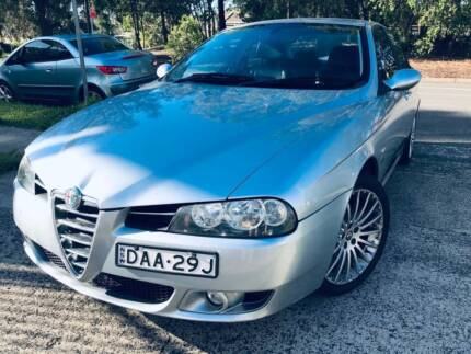 2004 Alfa Romeo 156 Auto Only 69,000 Kms LOGBOOKS LONG REGO Mags Sutherland Sutherland Area Preview