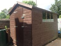 10' x 6' Wooden Garden Shed