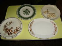 Plates, variety, perfect condition