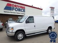 2013 Ford E-250 Cargo Van - 5,169 KMs - With Front Bulkhead, RWD