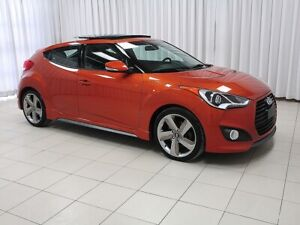 2014 Hyundai Veloster TURBO TECH PACKAGE w/ HEATED LEATHER, MOON