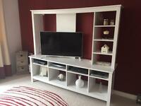 Ikea Tomnas white TV Unit