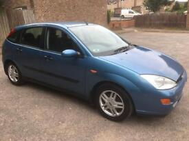 Ford Focus zetec 1.8 petrol new mot