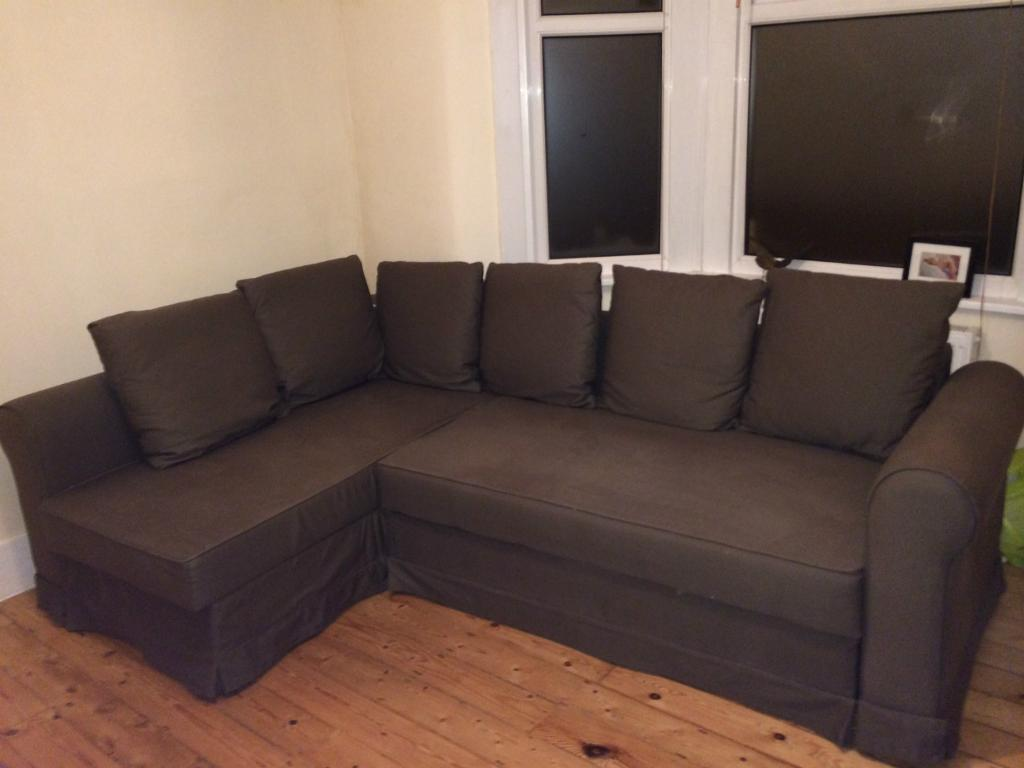 Jugendbett Mit Unterbett Ikea ~ IKEA MOHEDA Corner sofa bed For Sale  United Kingdom  Gumtree