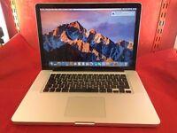 "Apple Macbook pro 15"" i7 Studio Ready!!Logic X,Final cut7&pro, Adobe CS6pack,worth 2k"