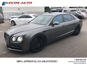2014 Bentley FLYING SPUR executive seat package\heated seats\air
