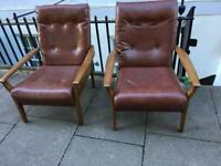 Vintage Cintique chairs