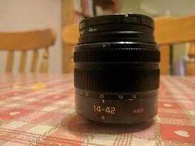 Panasonic 14 - 42 mm lens
