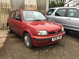 Nissan Micra Vibe 3dr (red) 1996