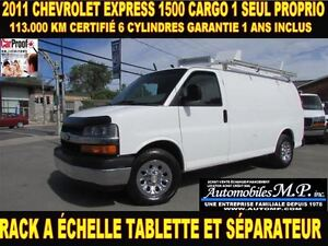 2011 Chevrolet Express 1500 CARGO 6 CYLINDRES 113.000 KM