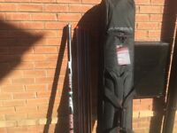 12.5 mtr avanti gtr fishing pole with Holdall brand new