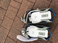 Salomon Snowboarding Boots with bag and bindings