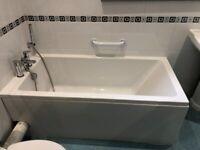 White bath for free