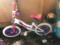 Girls 16inch bike