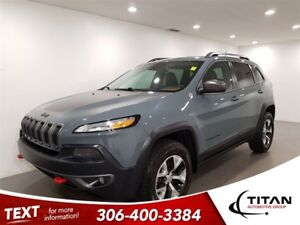 2015 Jeep Cherokee Trailhawk|4x4|CAM|Leather|NAV