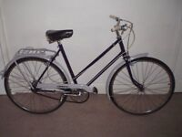 "Classic/Vintage/Retro Ladies/Womens Raleigh Wayfarer 21"" Commuter/Town Bike (will deliver)"