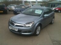 08 PLATE VAUXHALL ASTRA 1.6SXI 3DR SPORTS HATCH 52000MILES £2975