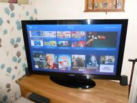 Samsung 50'' plasma flat screen tv in great condition comes with remote no dead pixels £165 ovno