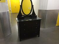 Chest of drawers with mirror/ dressing table, Free delivery