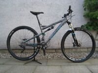 Whyte T-129 Works . Full Suspension Mountain Bike. Frame size Medium