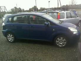 04 Toyota Verso 1.8 7 Seater 5 door clean car 2 keys ( can be viewed inside anytime)