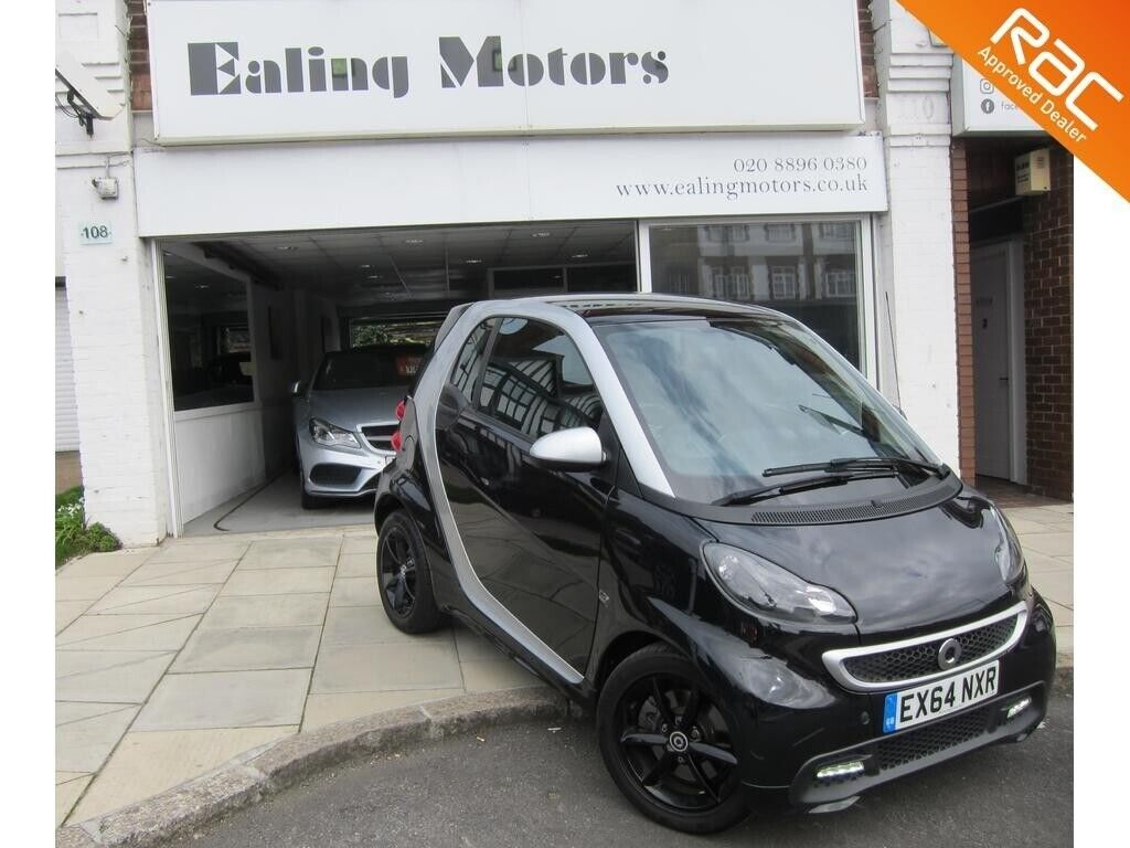 2017 Smart Fortwo Grandstyle Turbo 84bhp Sat Nav Leather Only 11783miles Full History Pan Roof Ac