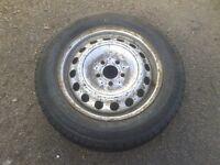 Mercedes Vito Sprinter Van Spare Wheel 5 Stud VW Steel Rim 195/65 R16