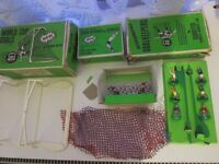 Subbuteo Accessories C.133 Goal Keepers + C.132 Cup Goals + C.130 Throw-ins