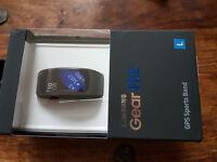 Samsung Gear Fit2 - new, black, L