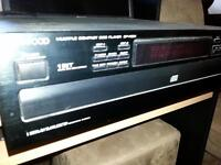 KENWOOD 5 DISC C.D PLAYER ( SOUNDS GREAT ,AND WORKS GREAT