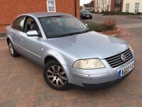 VW PASSAT 1.9 TDI DIESEL AUTOMATIC LOW MILEAGE 2003/03 REG