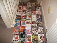 VIDEO GAMES & DVDS JOBLOT £5 THE LOT FOR EVERYTHING IN PHOTO