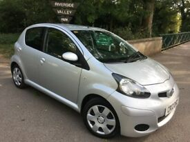 Toyota Aygo Ice VVT-1, 2012 5 dr Hatchback. 1.0L. Low Mileage at 57400. Excellent Condition.