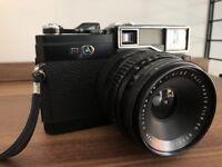 Fuji G690 medijm format camera with 60mm F8 lens